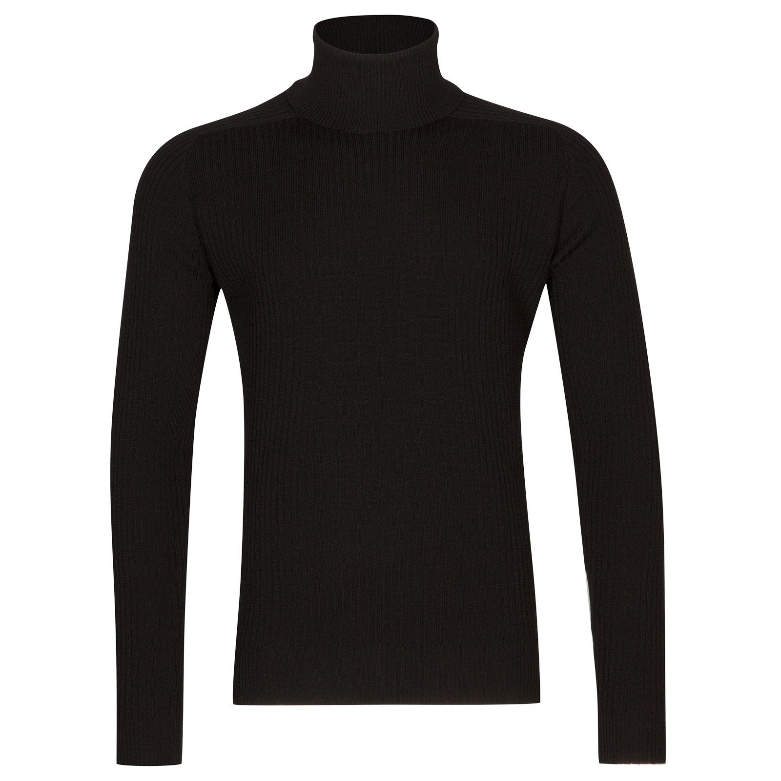 John Smedley redmayne Merino Wool Pullover in Black-M