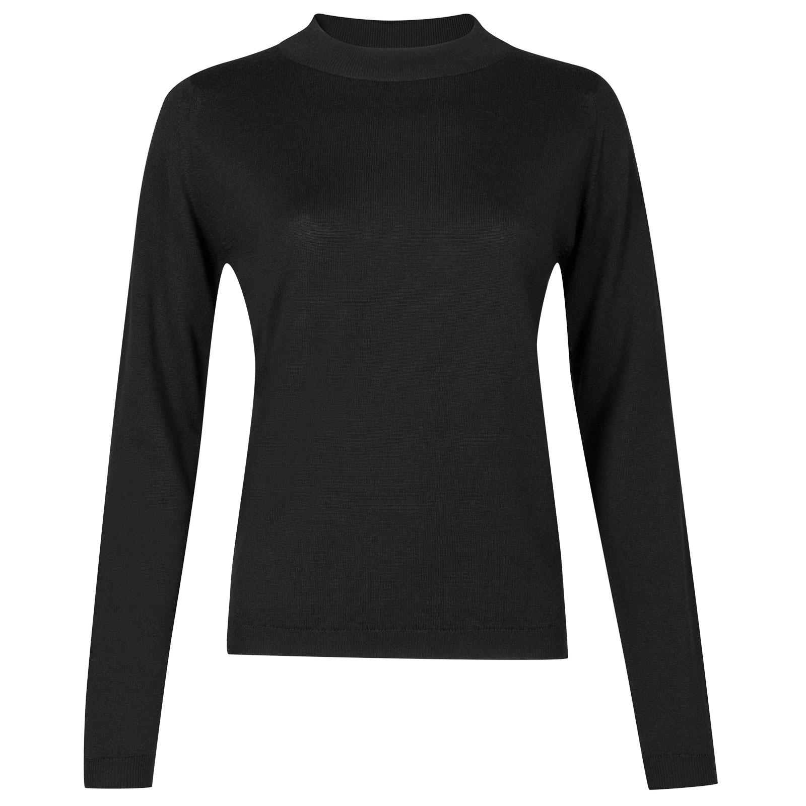 John Smedley renata Merino Wool Sweater in Black-M