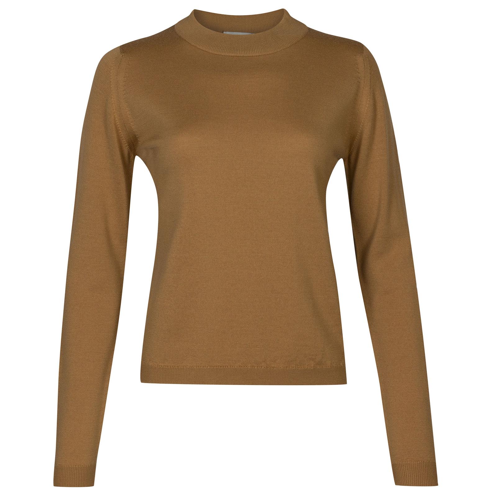 John Smedley renata Merino Wool Sweater in Camel-S