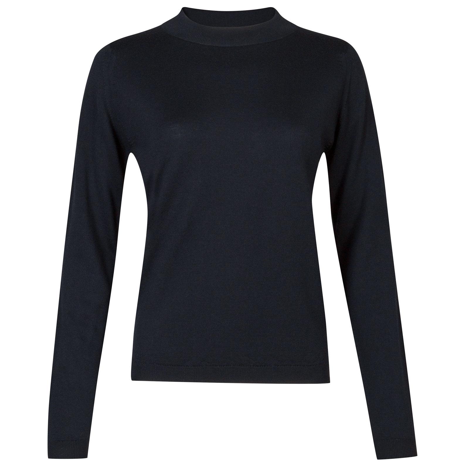John Smedley renata Merino Wool Sweater in Midnight-L