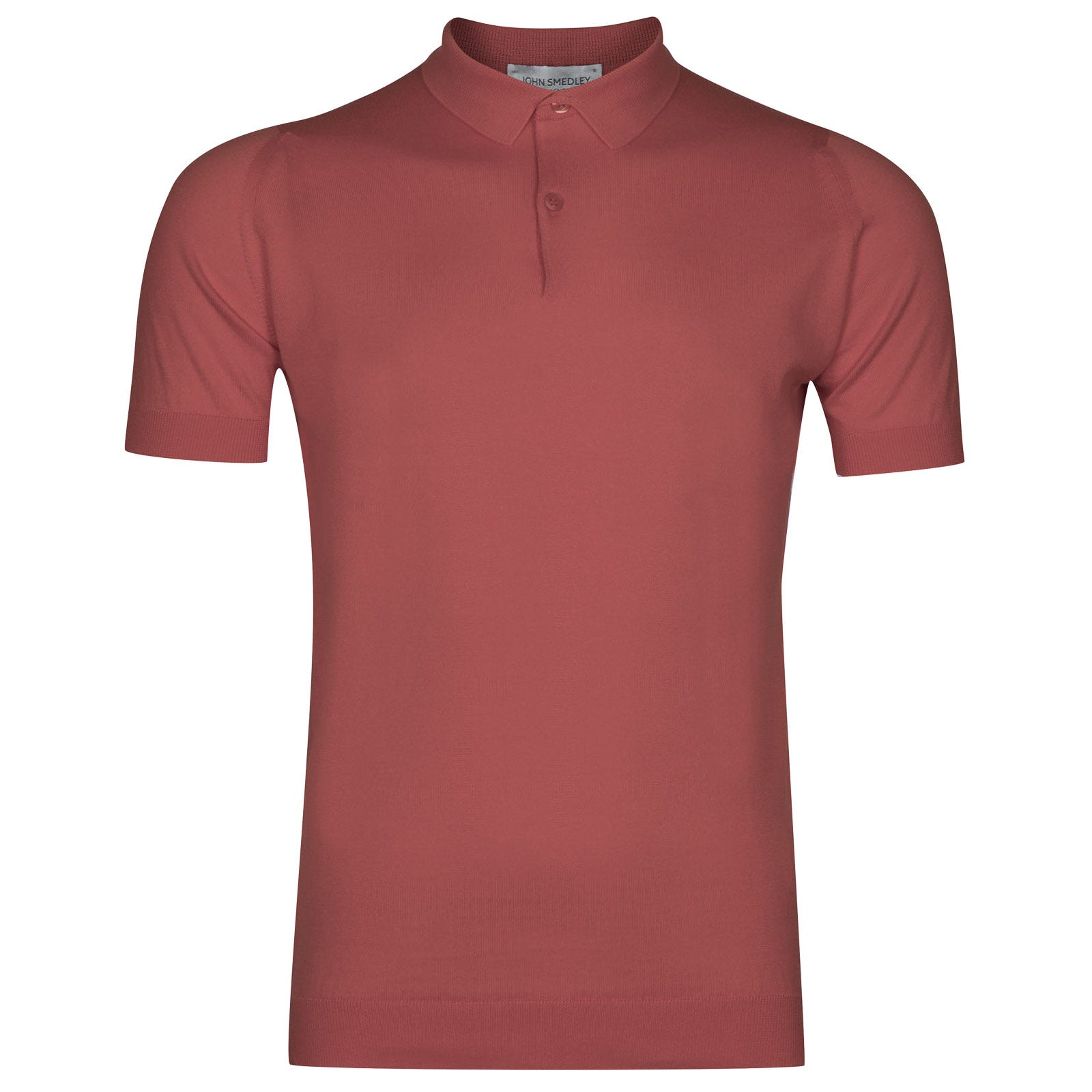 John Smedley rhodes Sea Island Cotton Shirt in Stanton Pink-L