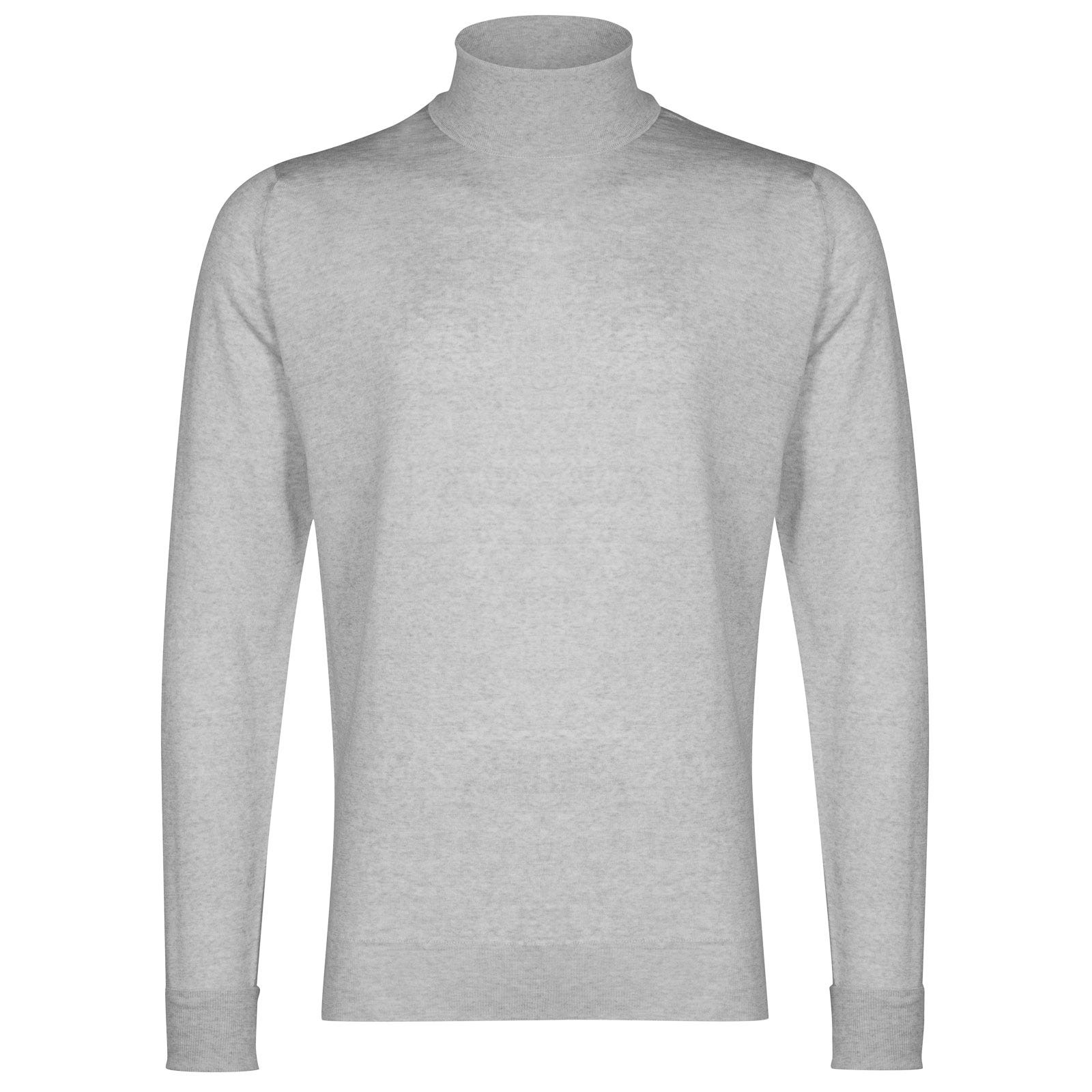 John Smedley richards Merino Wool Pullover in Bardot Grey-XXL