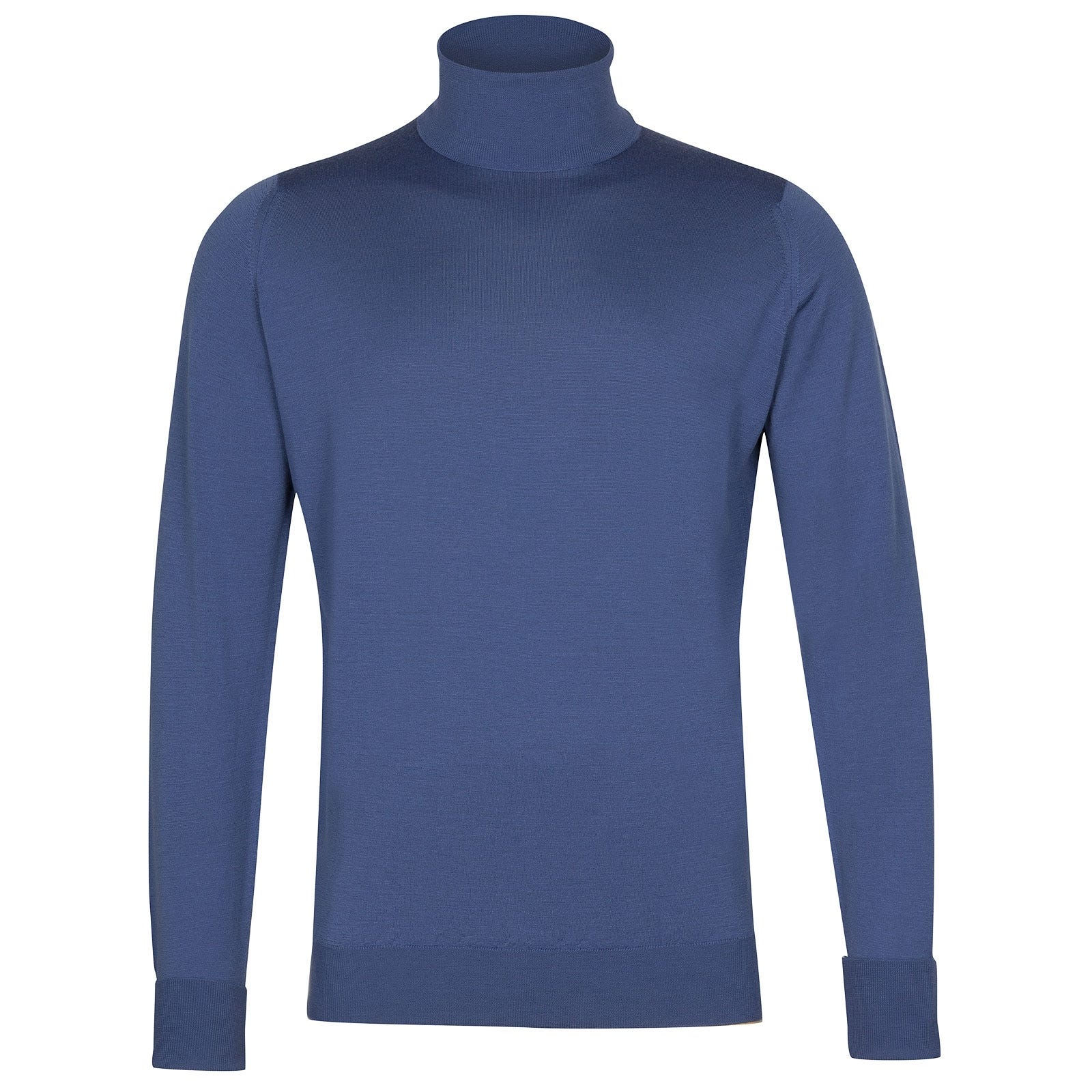 John Smedley Richards in Blue Iris Pullover-XLG