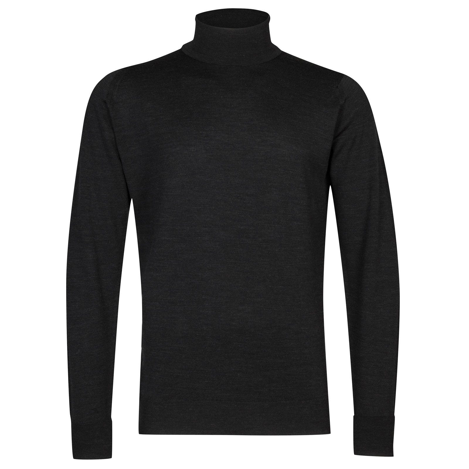 John Smedley richards Merino Wool Pullover in Hepburn Smoke-XL