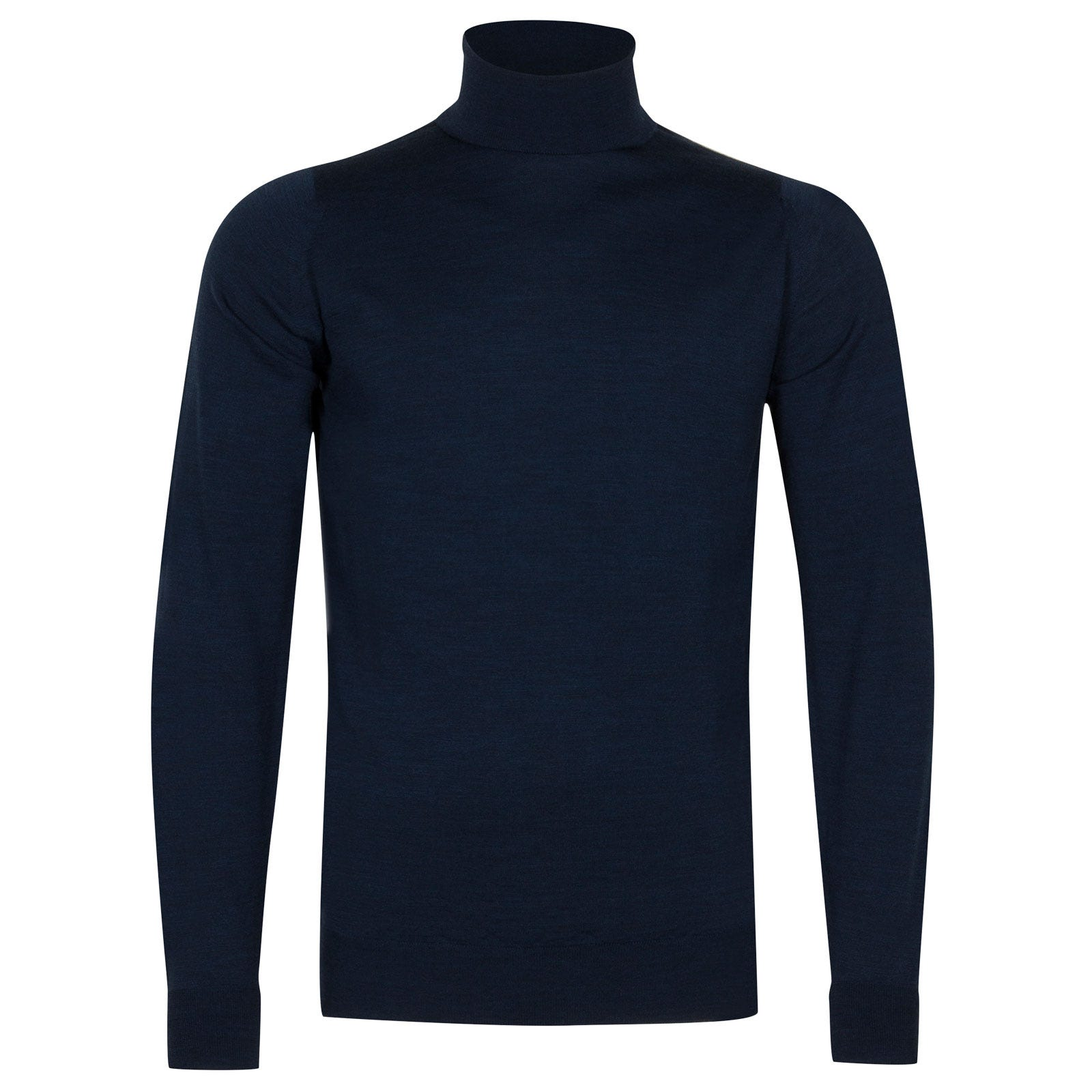 John Smedley richards Merino Wool Pullover in Indigo-XL