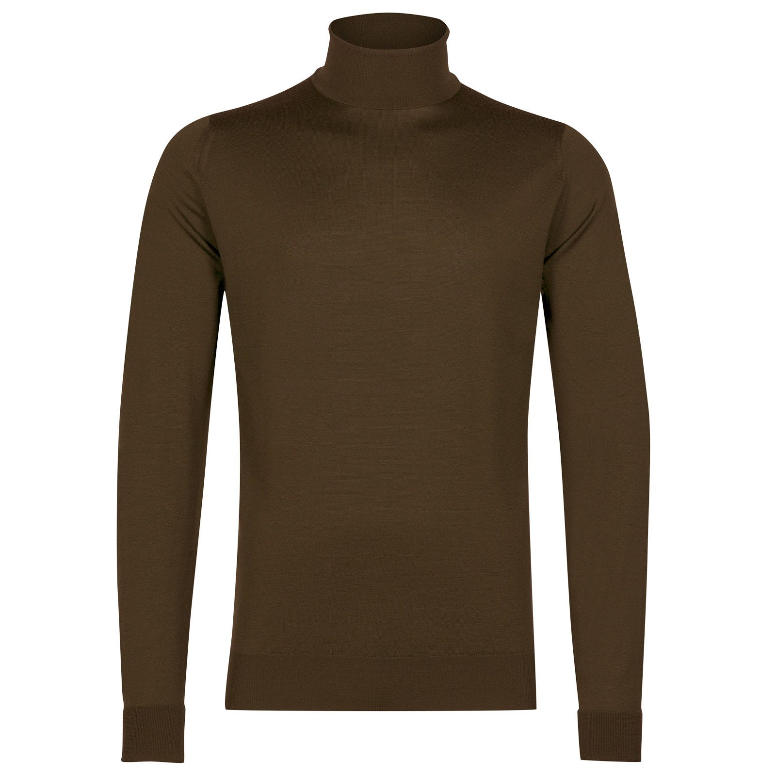 John Smedley richards Merino Wool Pullover in Kielder Green-XL