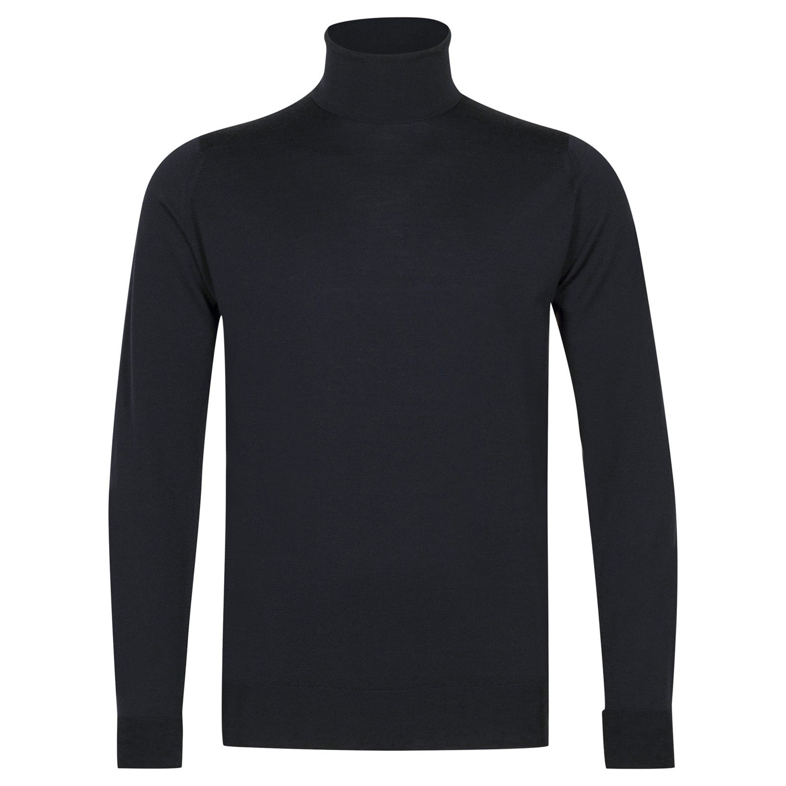 John Smedley richards Merino Wool Pullover in Midnight-L