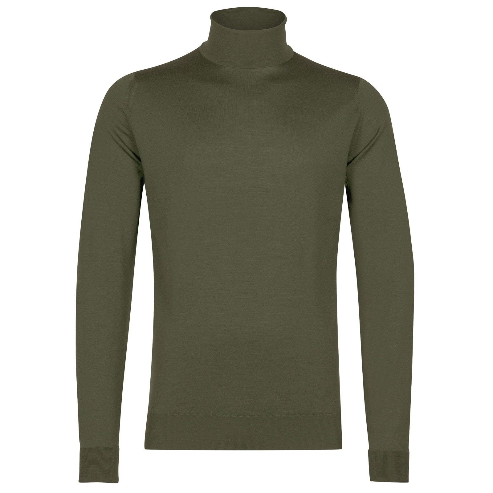 John Smedley Richards in Sepal Green Pullover-SML