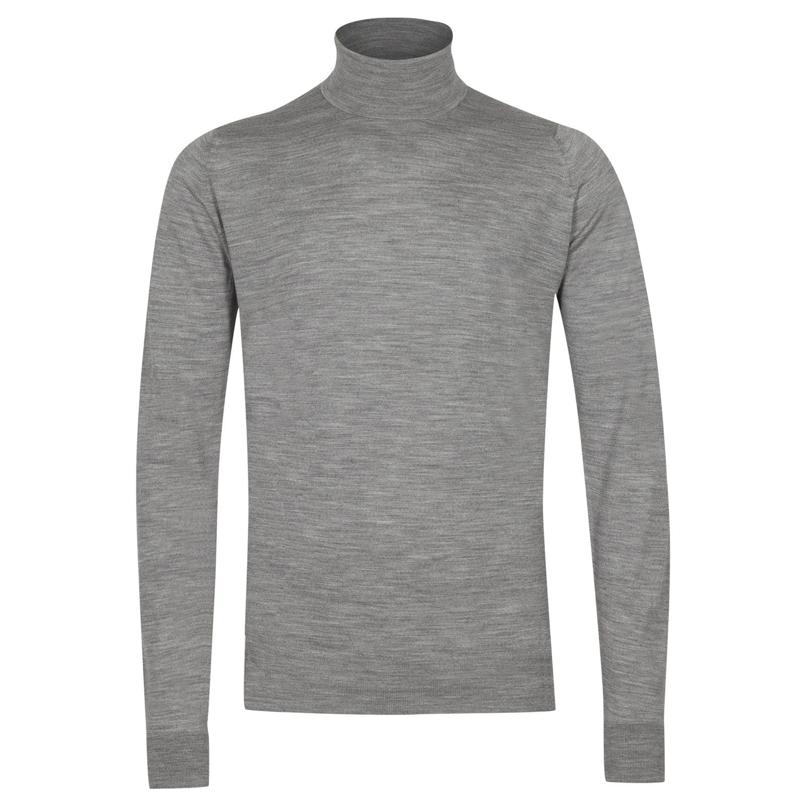 John Smedley richards Merino Wool Pullover in Silver-XXL