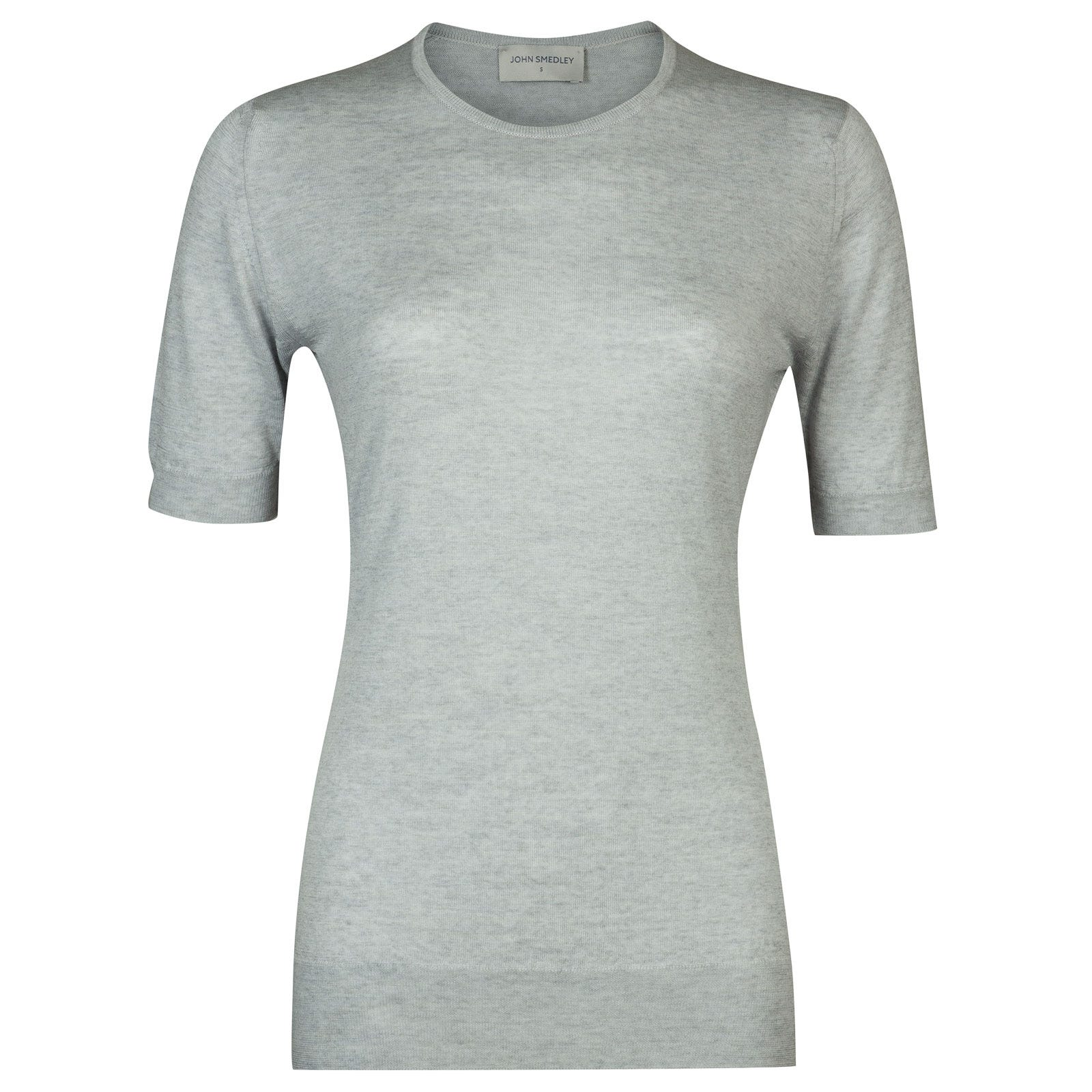 John Smedley Rietta in Bardot Grey Sweater-XLG