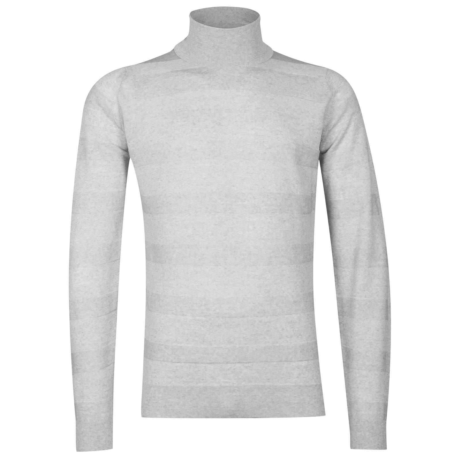 John Smedley ripley Merino Wool Pullover in Bardot Grey-XXL
