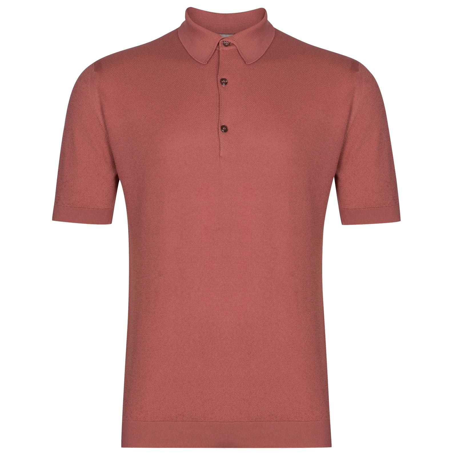 John Smedley Roth in Azalea Pink Shirt-LGE