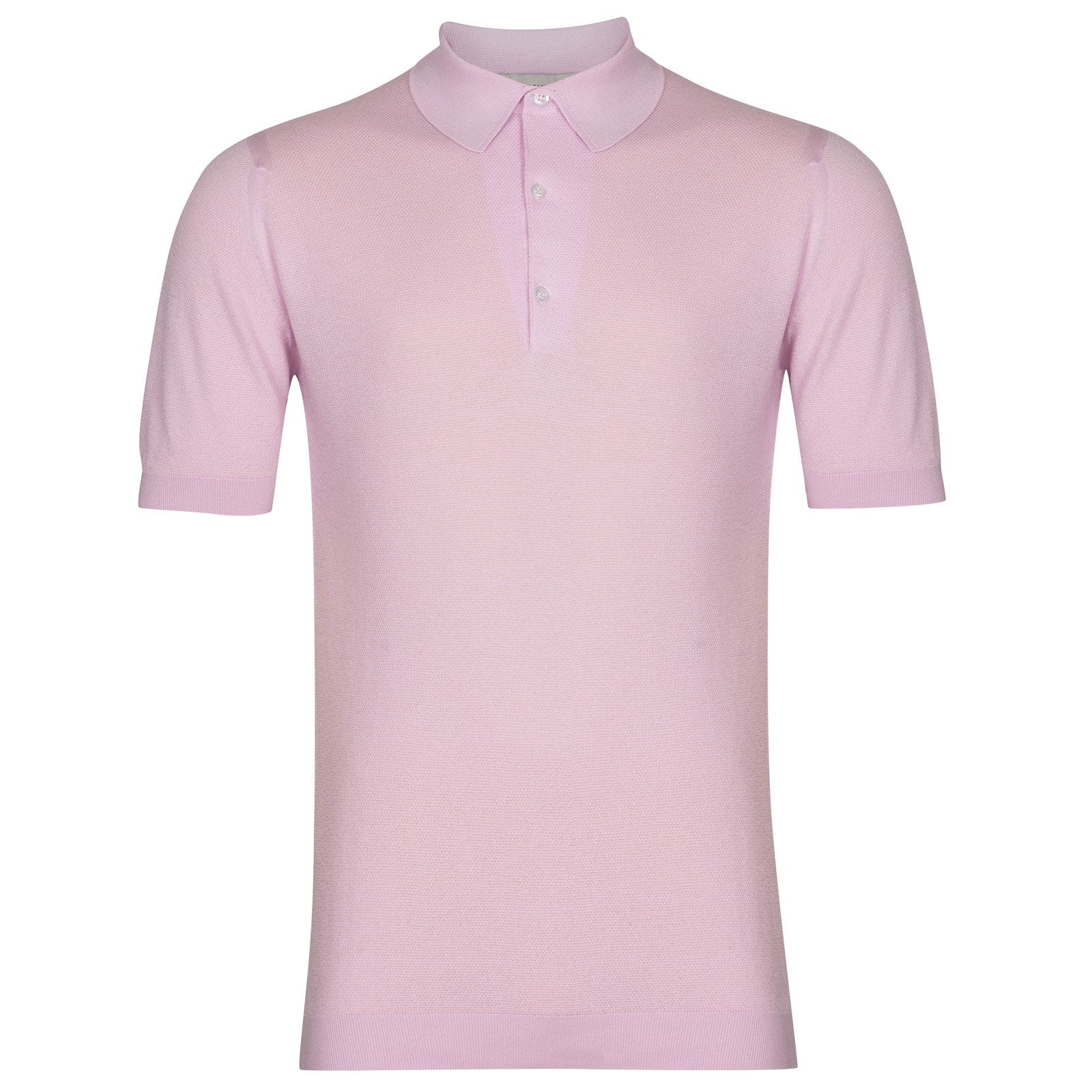 John Smedley Roth in Pink Blossom Shirt-SML