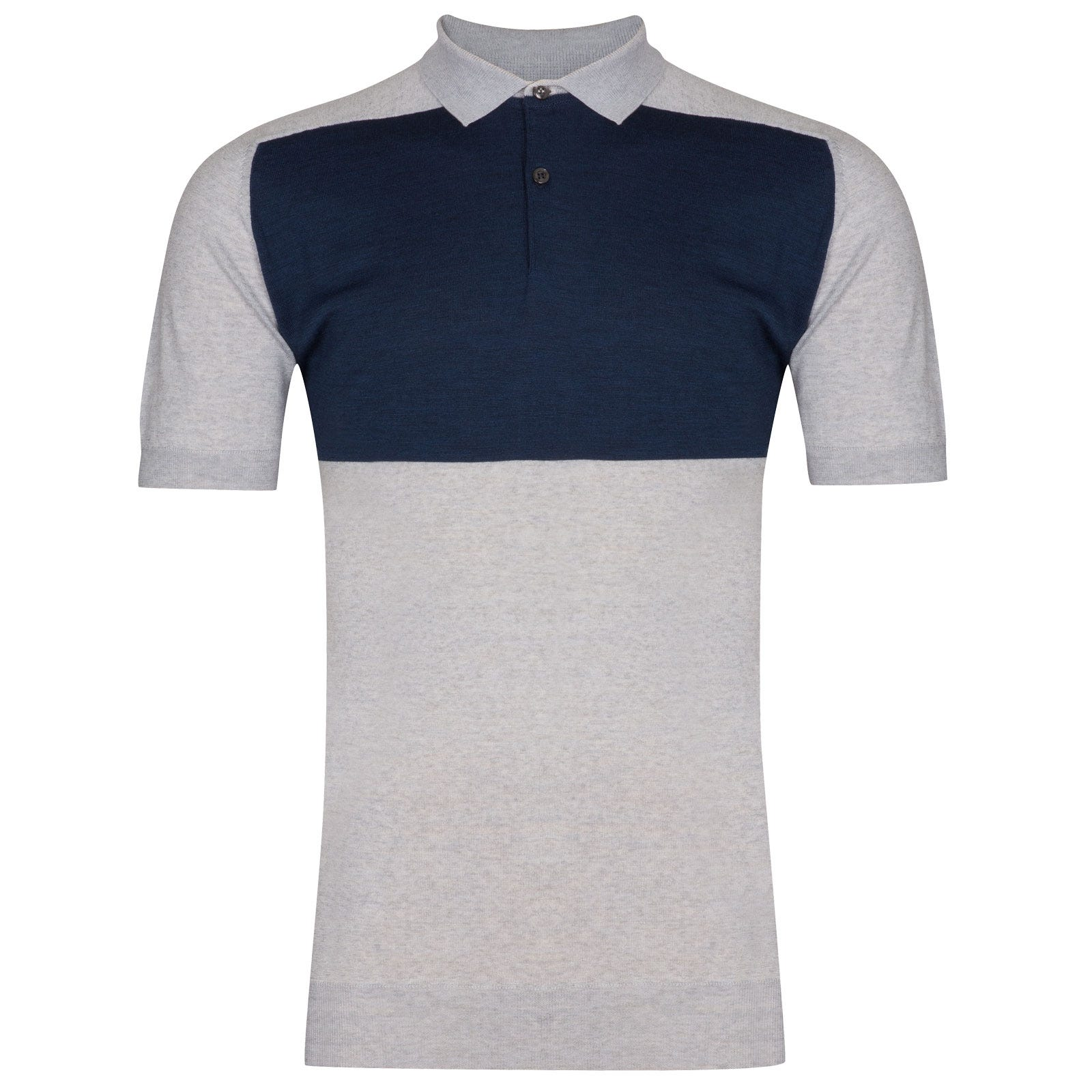 John Smedley Saba in Bardot Grey Shirt-XXL