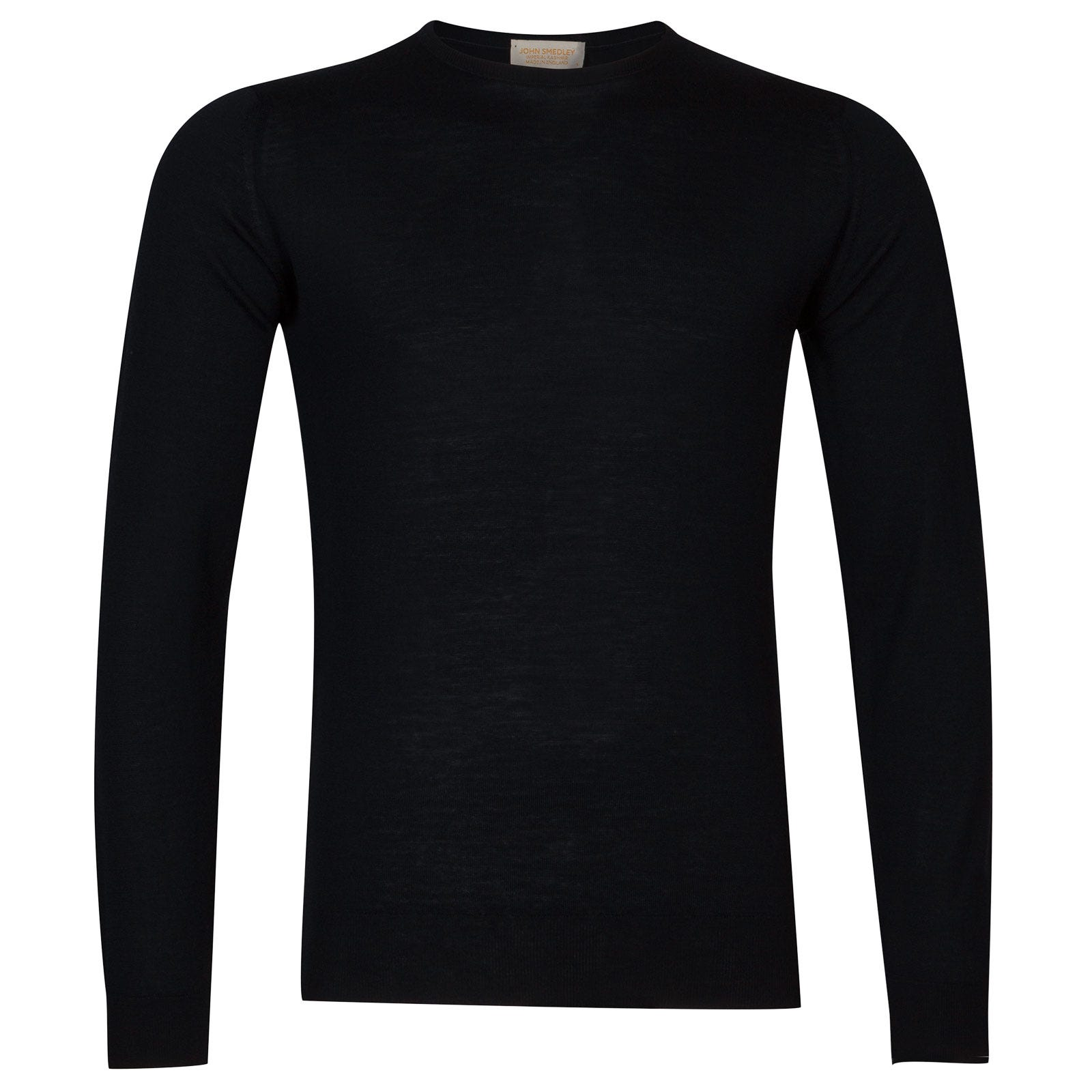 John Smedley sherman Merino Wool and Cashmere Pullover in Midnight-L