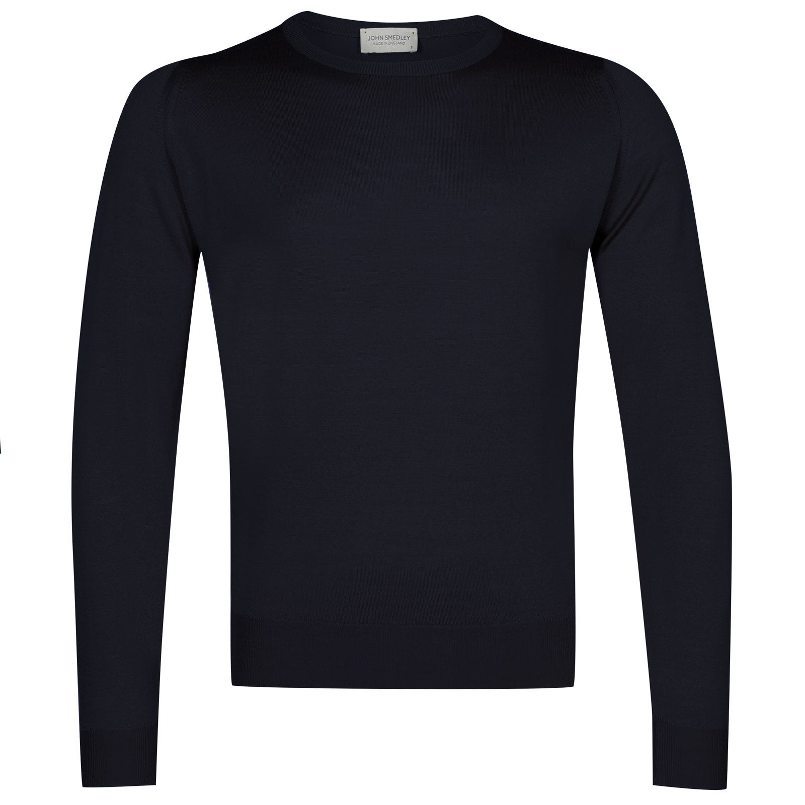 John Smedley sicily Merino Wool Pullover in Midnight-XL