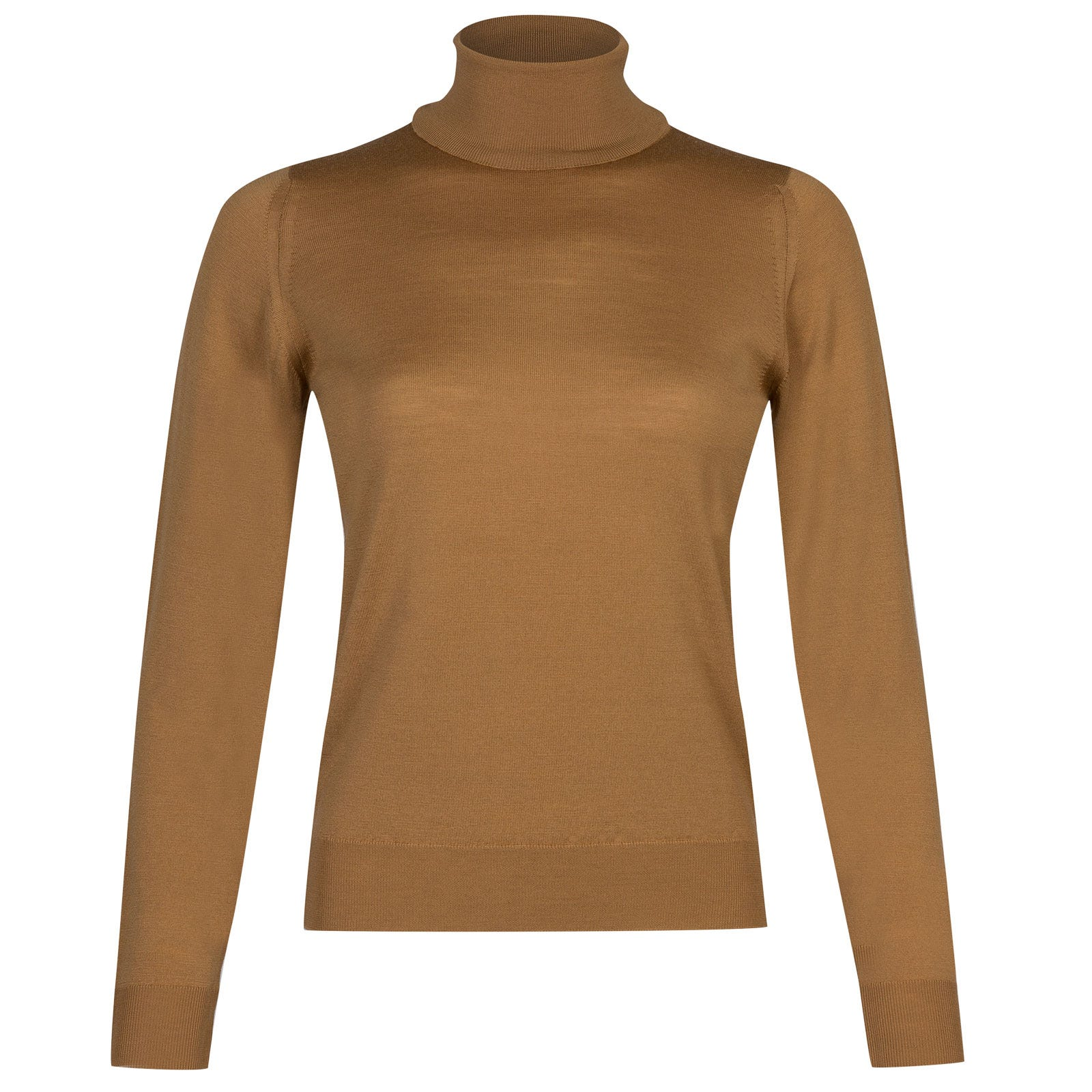 John Smedley siena Merino Wool Sweater in Camel-S