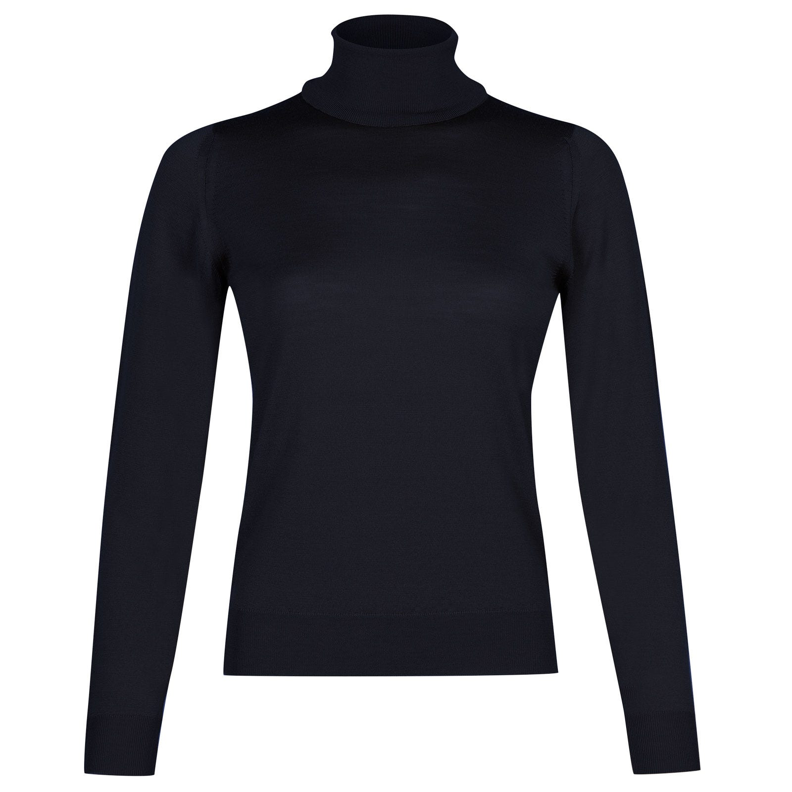 John Smedley siena Merino Wool Sweater in Midnight-M