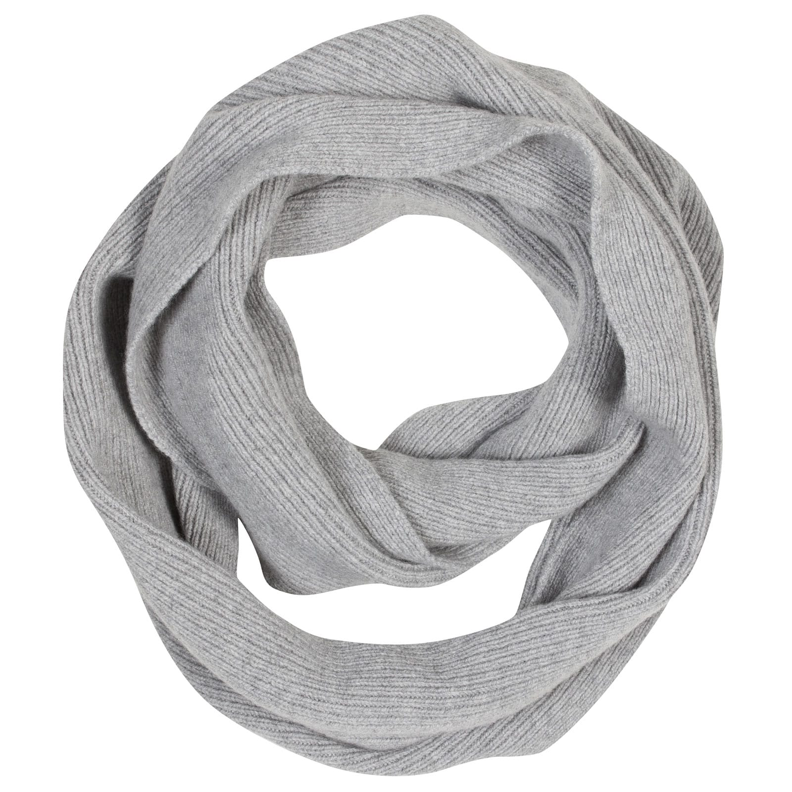 John Smedley solar Wool and Cashmere Scarf in Silver-ONE
