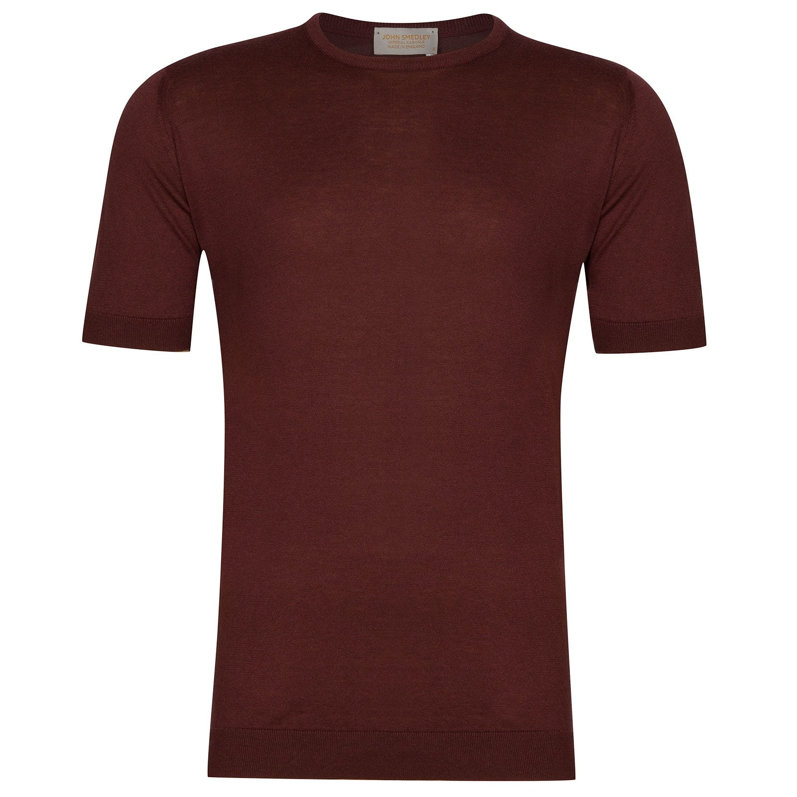 John Smedley Stonwell Sea Island Cotton and Cashmere T-Shirt in