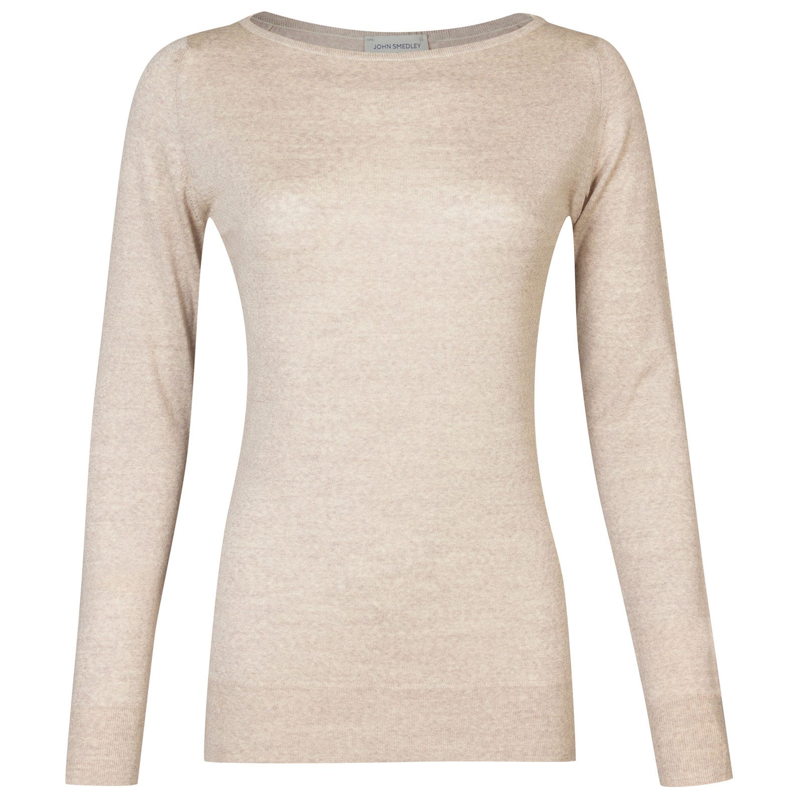 John Smedley susan Merino Wool Sweater in Eastwood Beige-S