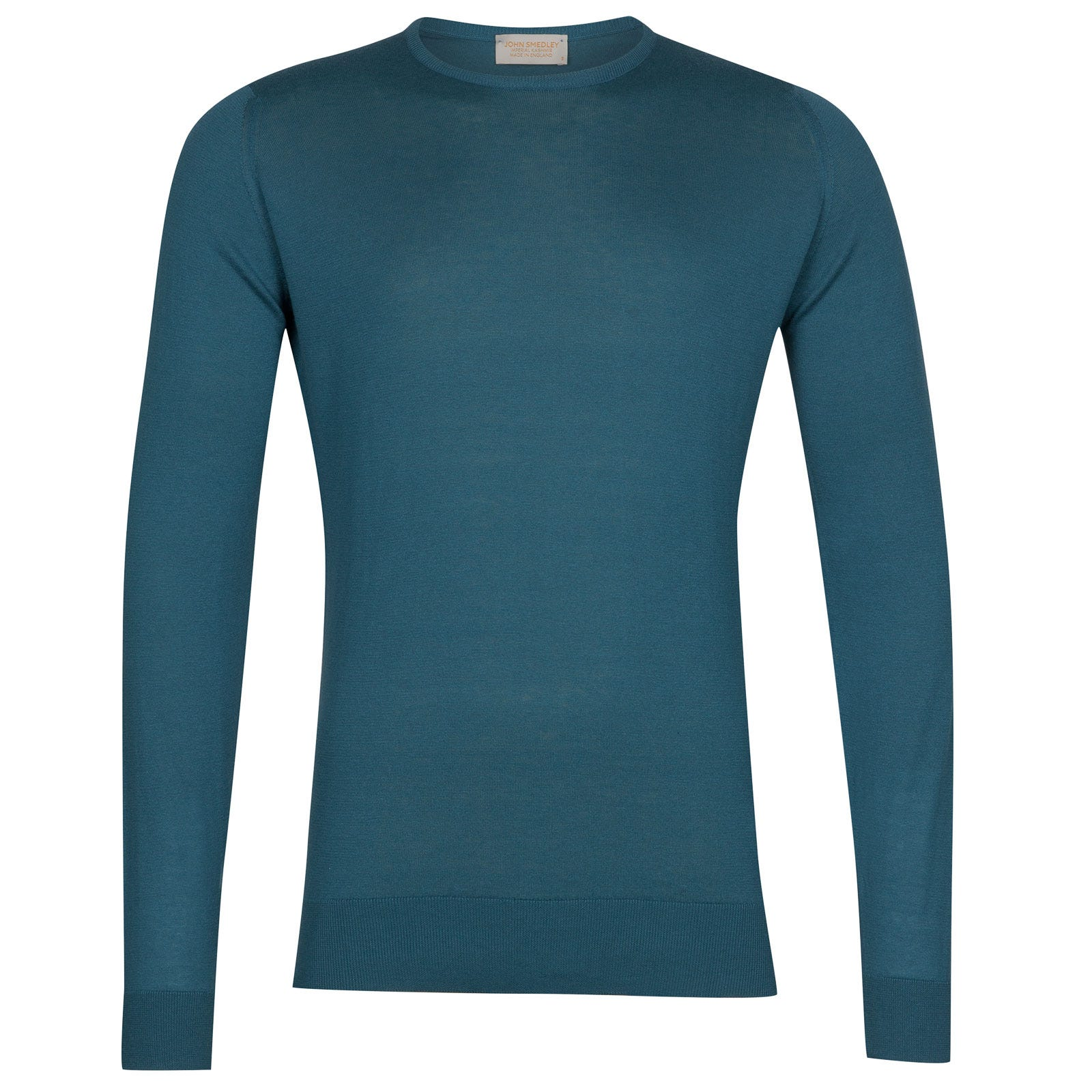 John Smedley theon Sea Island Cotton and Cashmere Pullover in Bias