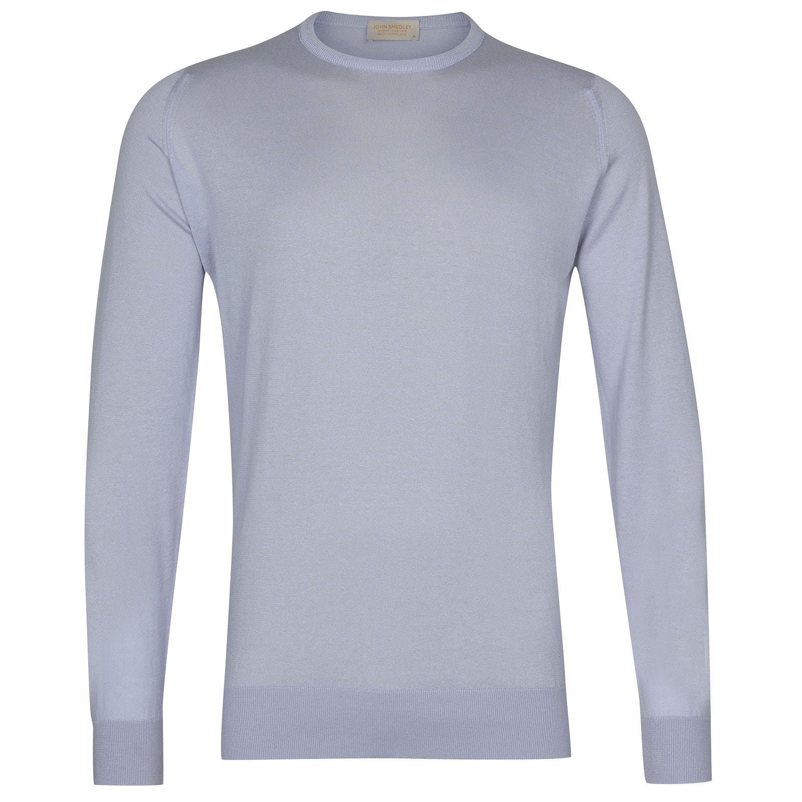 John Smedley Theon in Blue Mist Pullover-LGE