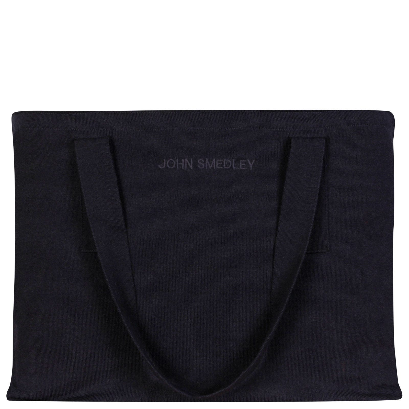 John Smedley tote Merino Wool & Cotton Tote in Midnight-ONE