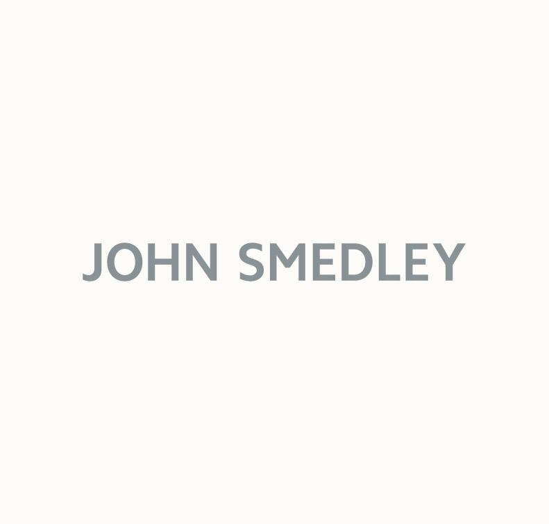 John Smedley Treeby Extra Fine Merino Shirt in Vantage Blue-L