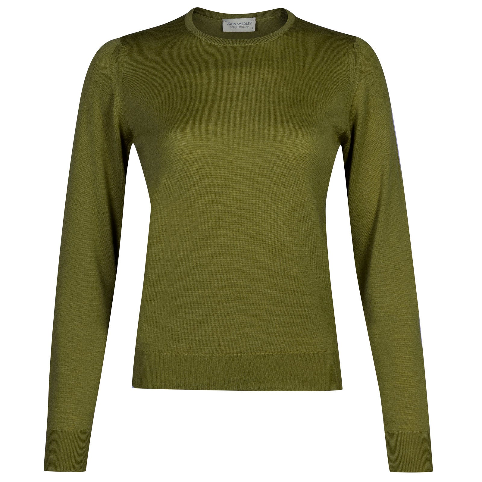 John Smedley venice Merino Wool Sweater in Lumsdale Green-M