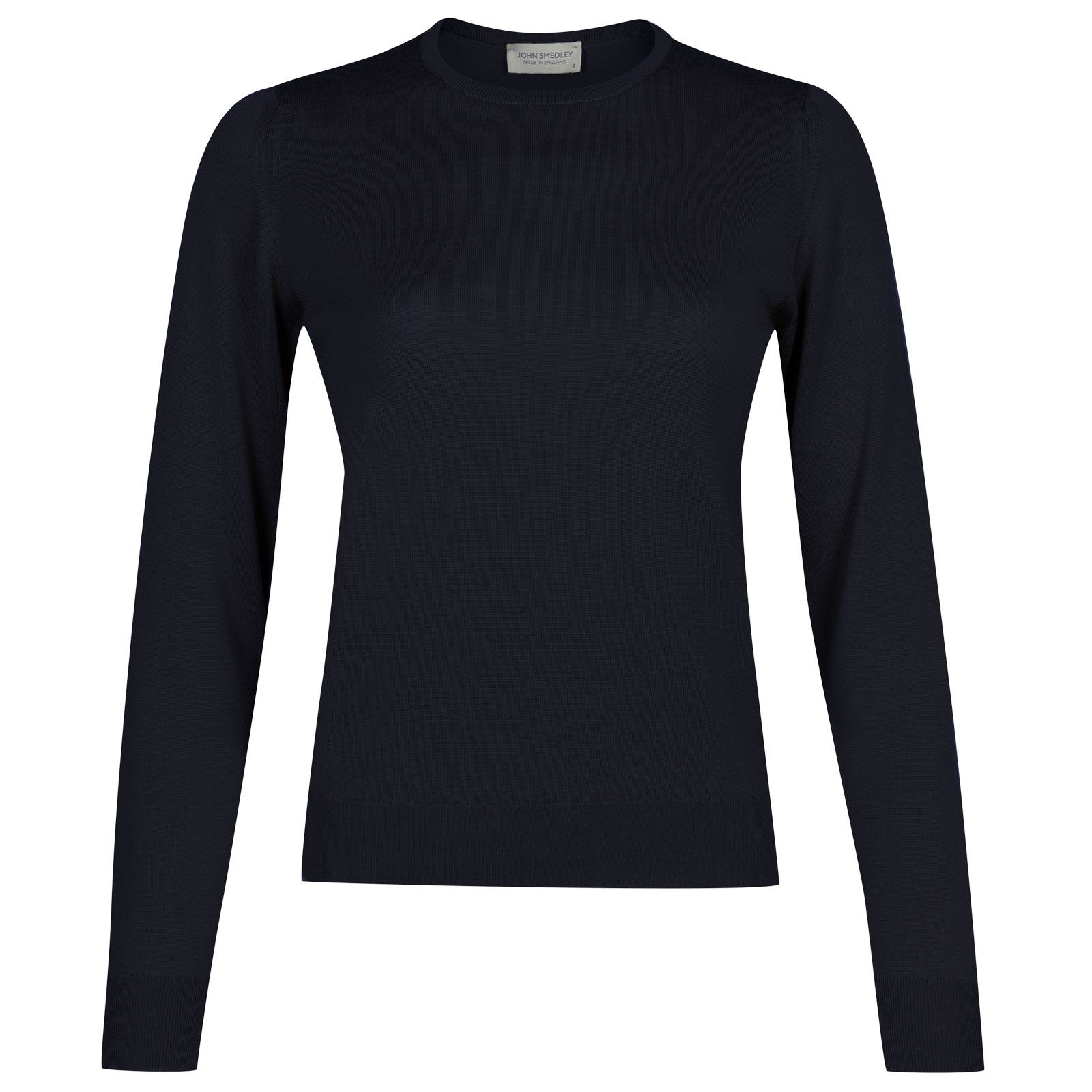 John Smedley venice Merino Wool Sweater in Midnight-S
