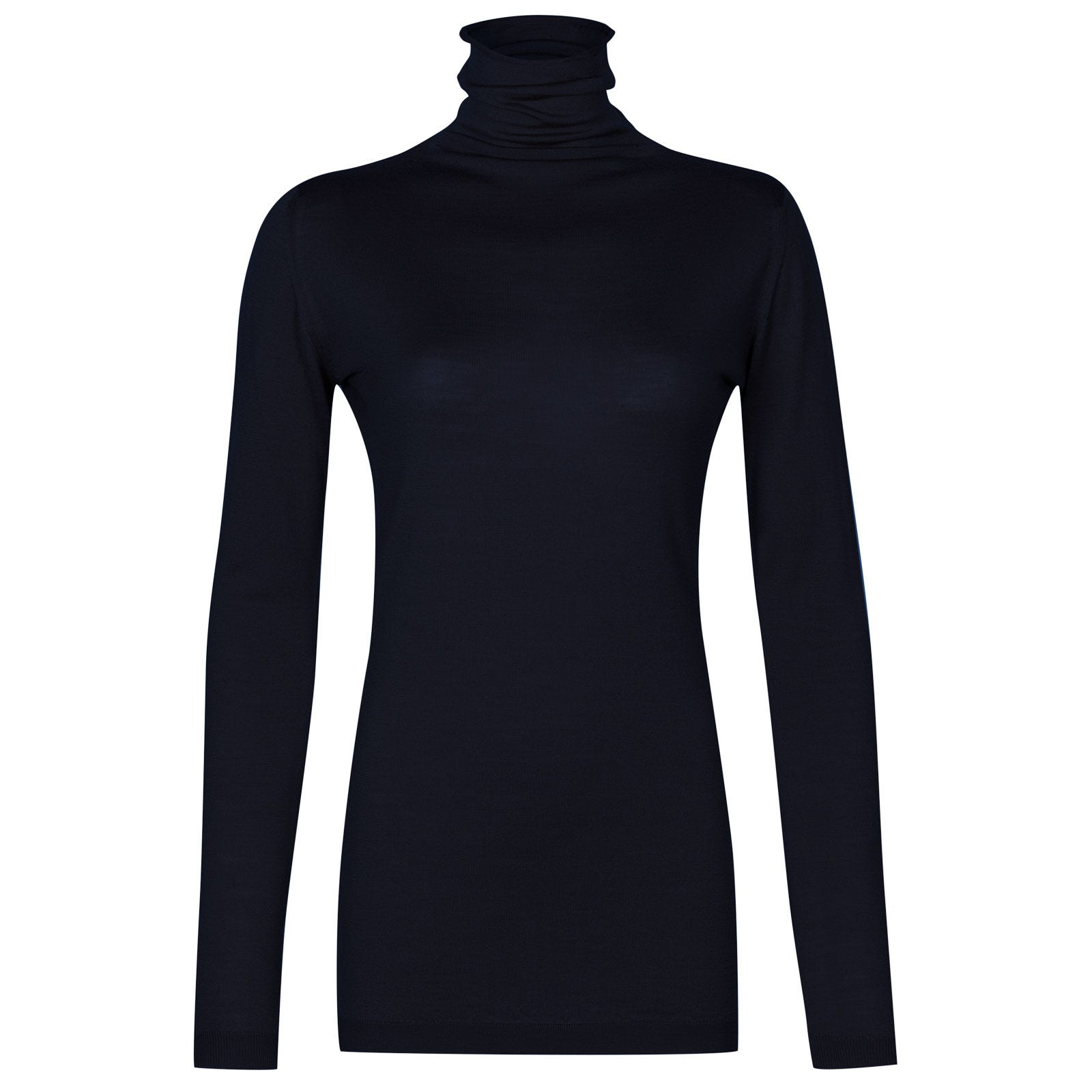 John Smedley westley Merino Wool Sweater in Midnight-S