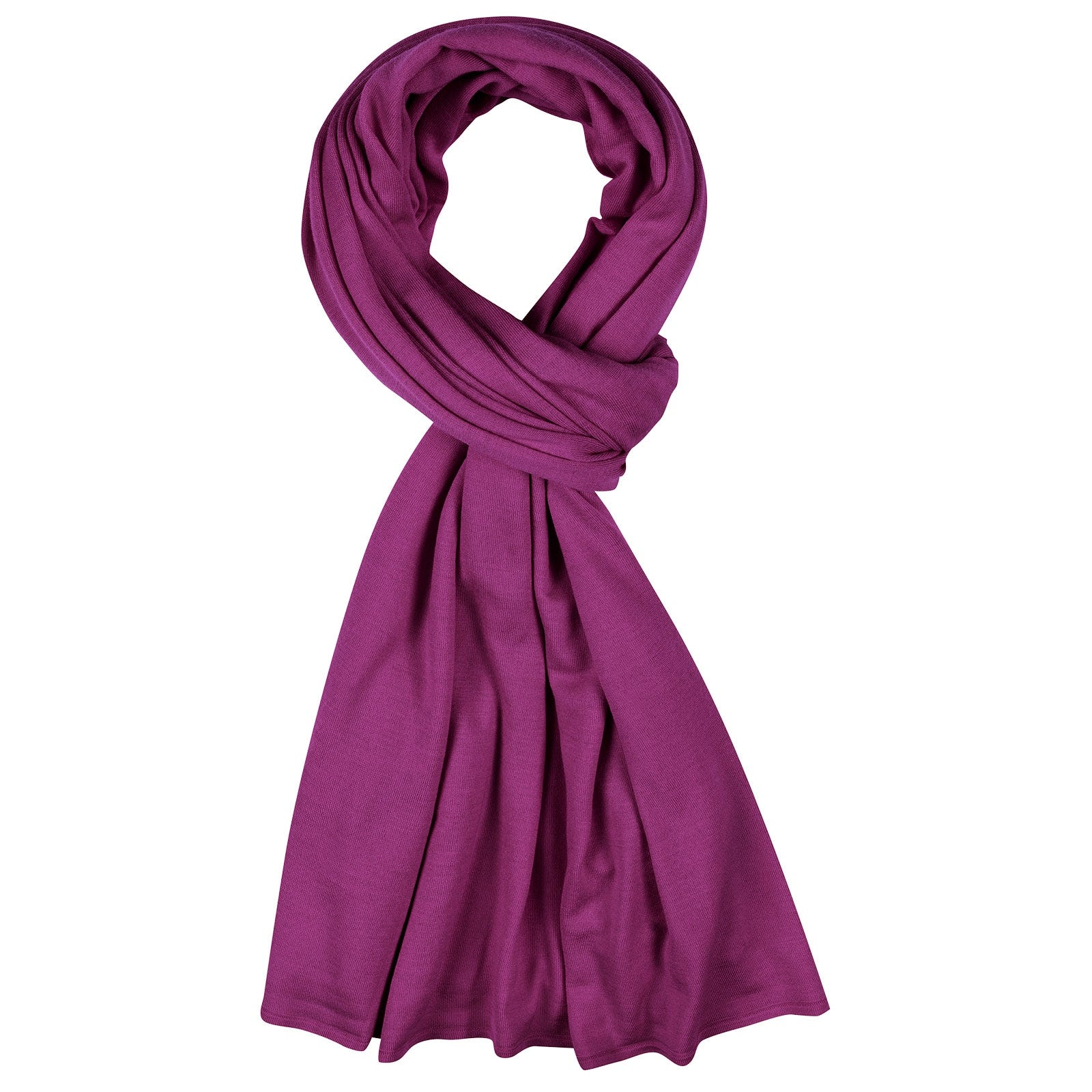 John Smedley Wings Merino Wool Shawl in Prism Violet-ONE
