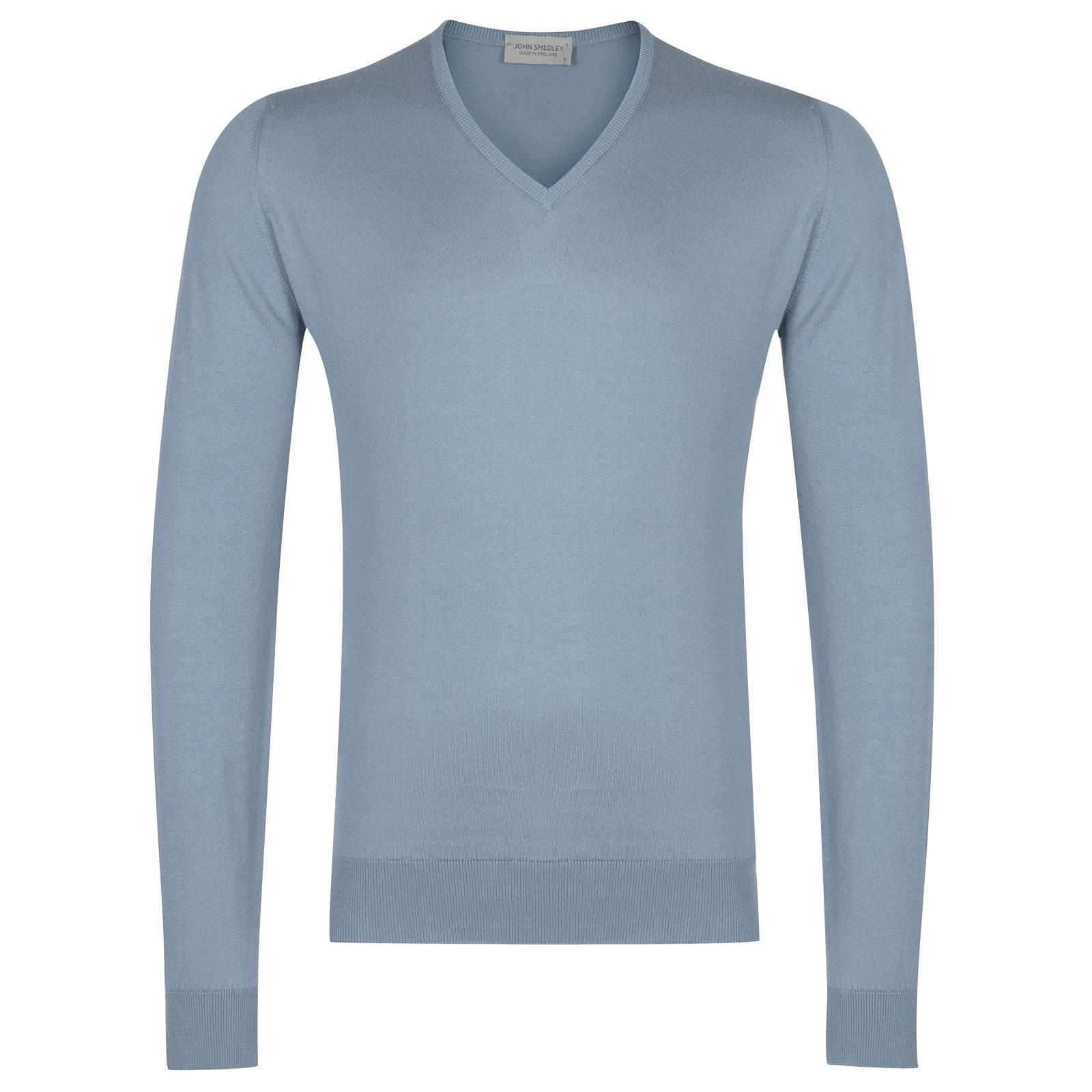 John Smedley Woburn in Dusk Blue Pullover-XXL