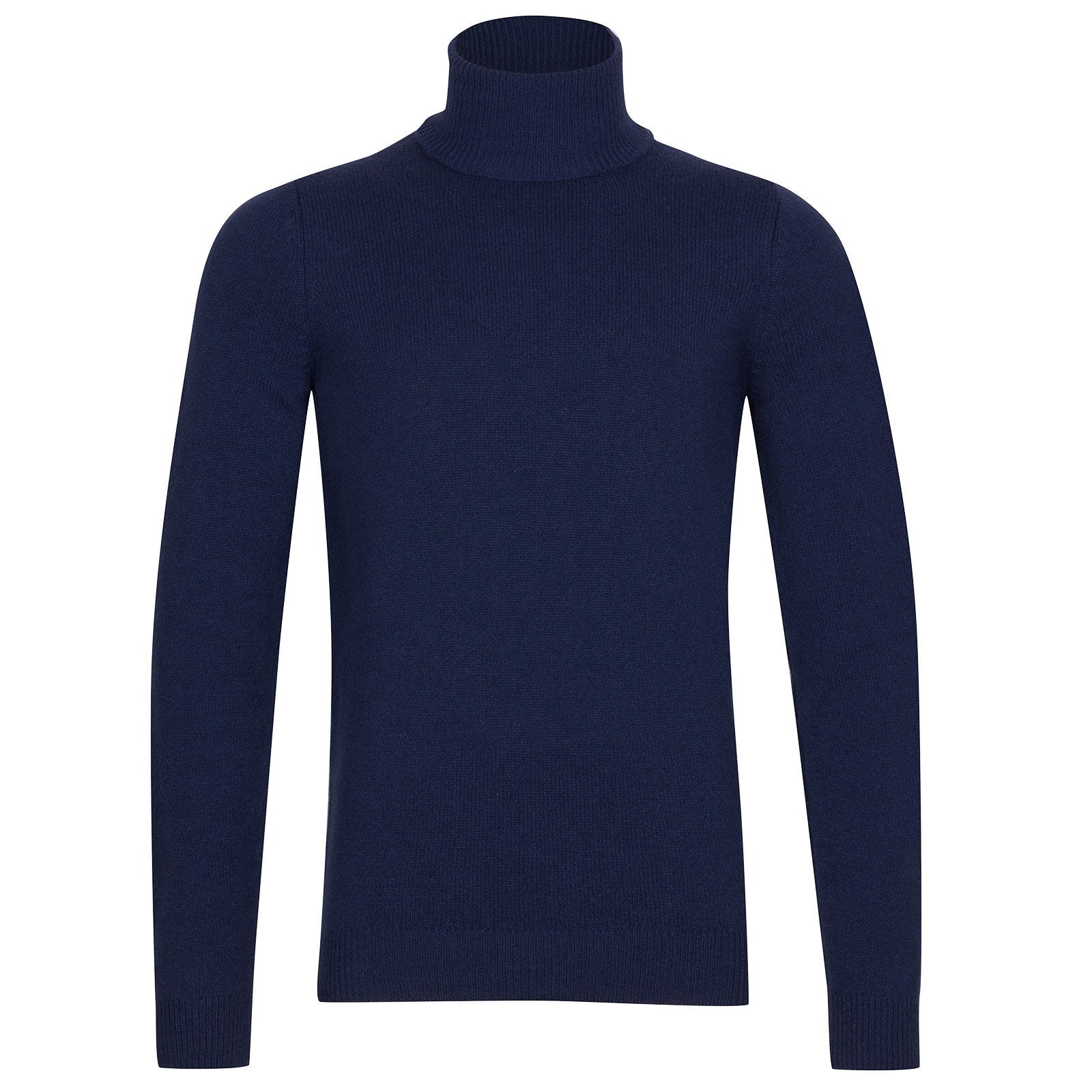 John Smedley Zachary Wool and Cashmere Pullover in Indigo-S