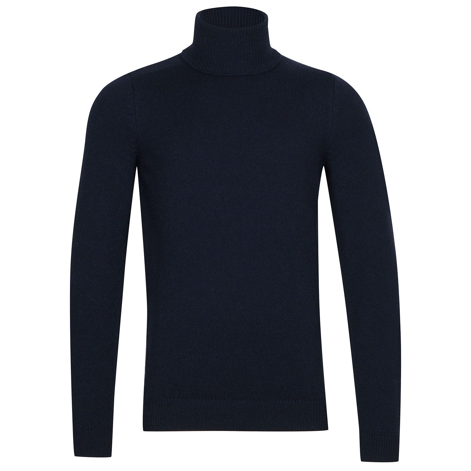 John Smedley Zachary Wool and Cashmere Pullover in Midnight-M