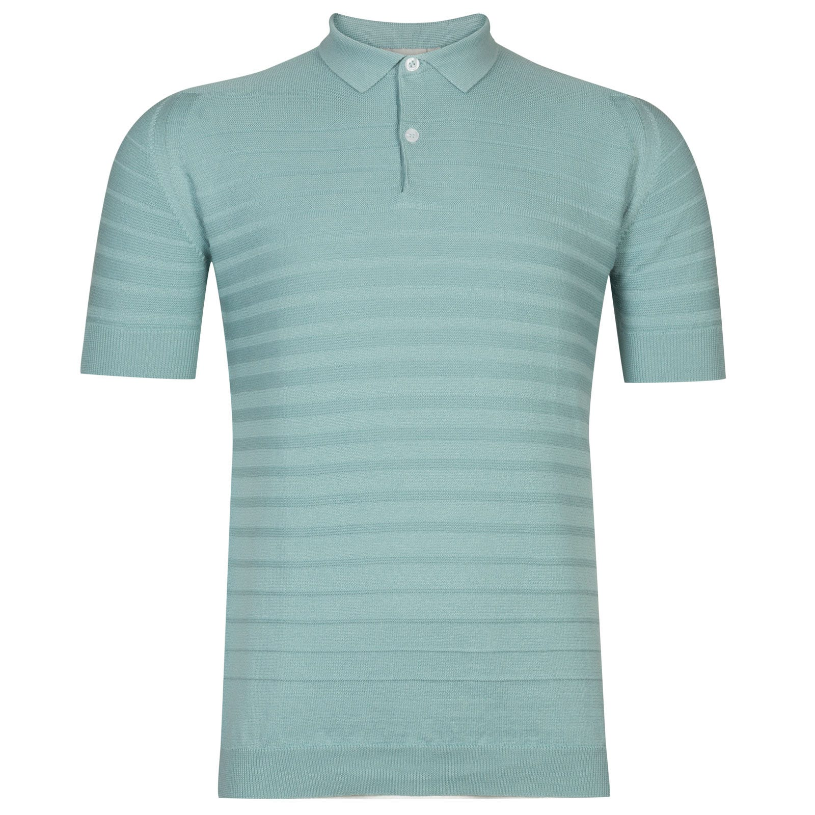 John Smedley Zuber Cotton Shirt in Terrill Green -Xl